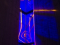 Kapellet blått lys