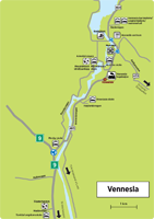 Områdekart-Vennesla